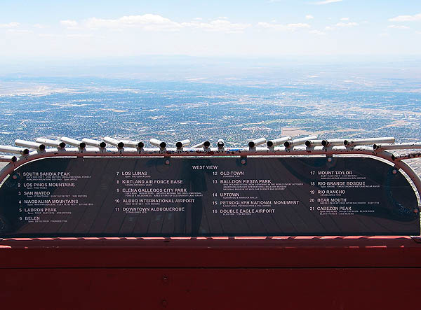 ABQ 2004: Sandia Peak Sight Tubes (West)