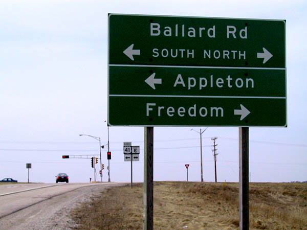 Appleton: Sign to Freedom