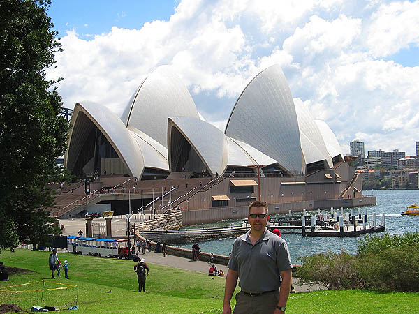 Australia 2004: Curtis and Opera House