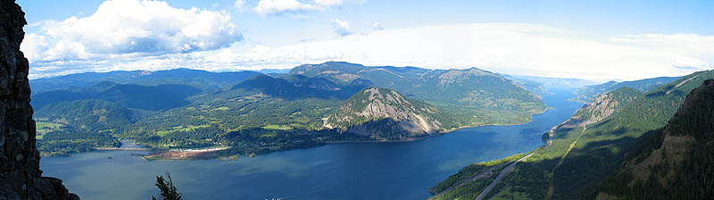 Columbia River Gorge Panoramic
