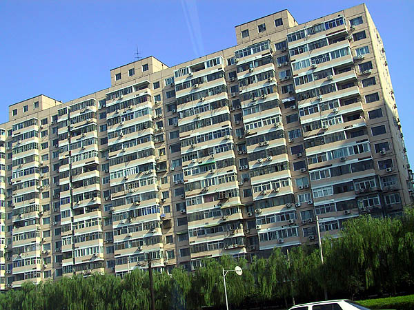 Beijing 2001: Apartment Building 02