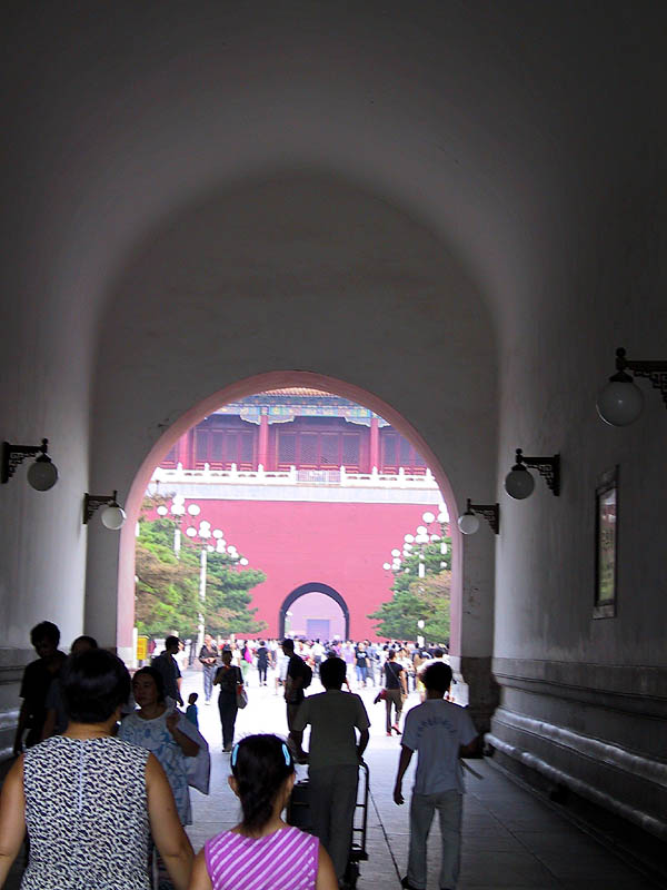 Beijing 2001: Through Tiananmen Gate
