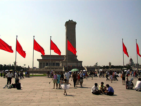 Beijing 2001: Tiananmen Square and Monument