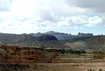 Moab 96: West from Camp