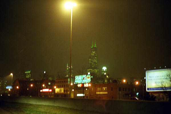 Chicago Sears Tower from I90