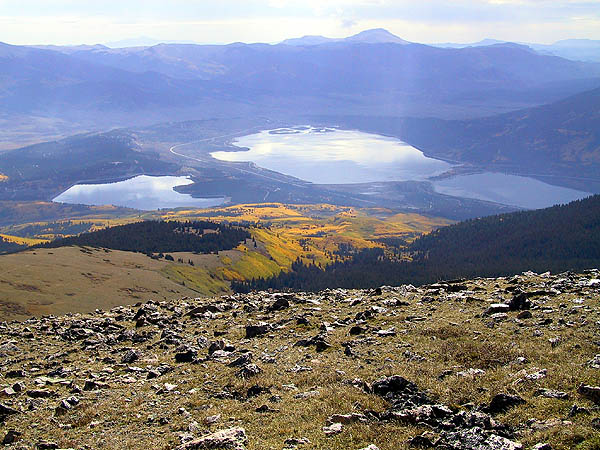 Mt Elbert 2001: Twin Lakes 02