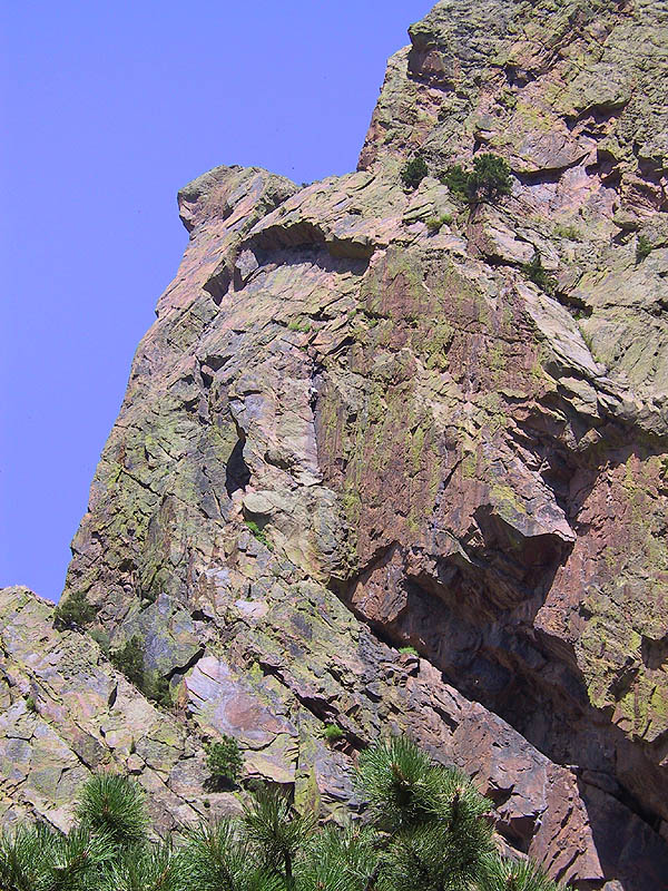 Eldorado Canyon: Red Garden Wall 02