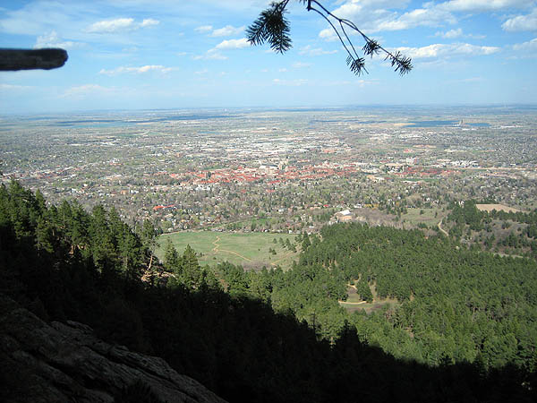 First Flatiron 2007: Boulder Scenery