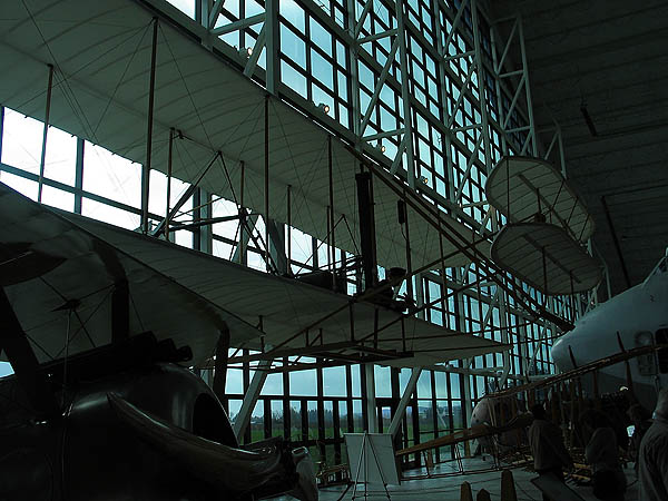 Spruce Goose 2005: Wright Flyer Model