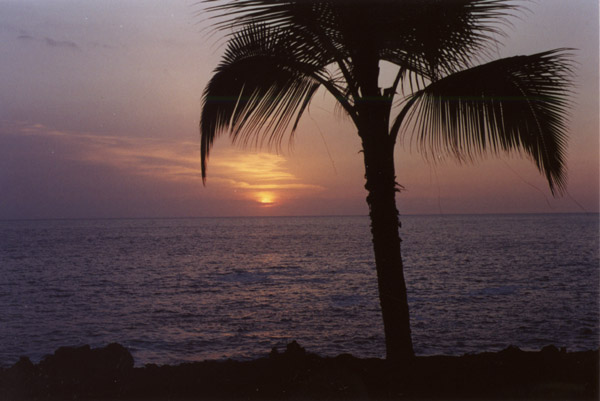 Hawaii: Another Kona Sunset