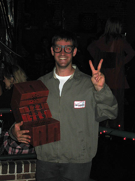 Halloween 2005: Verizon Guy