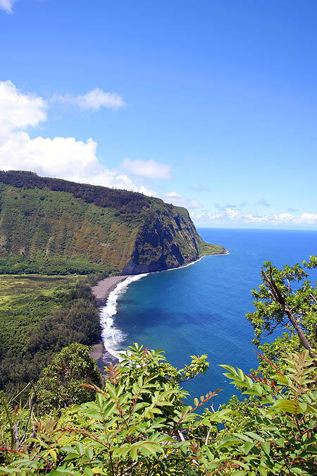 Hawaii 2006: Waipio Valley from Observation Point 3