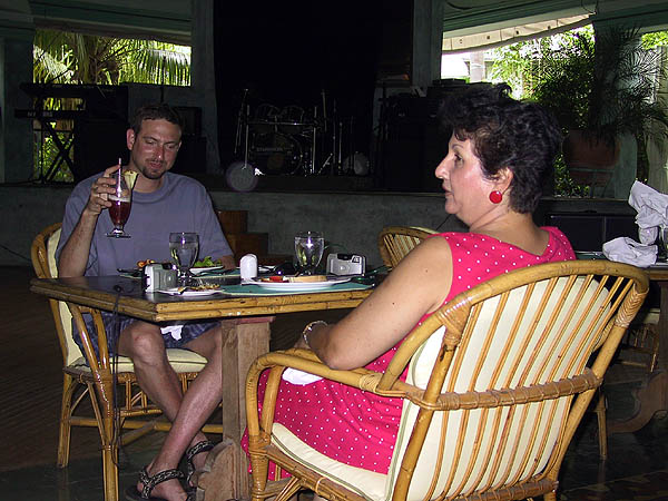 Jamaica 2002: Howard and Dawn