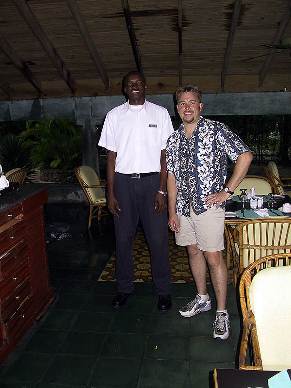 Jamaica 2002: Curtis and Jermaine