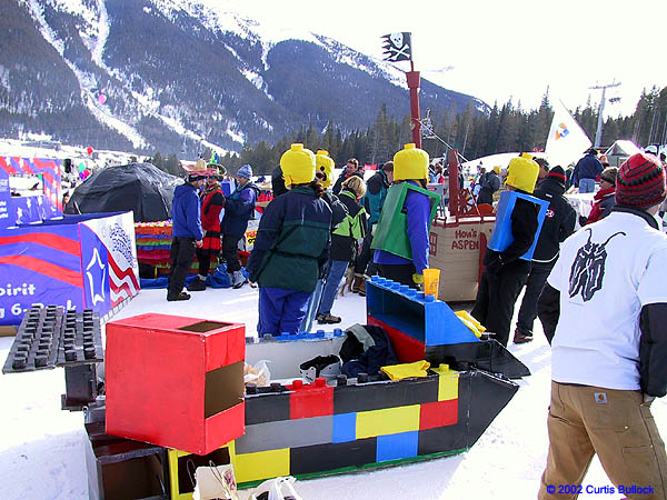 KBCO 2002: Lego People and Sled