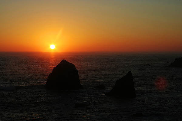 Mendocino 2006: California Coast Sunset 2