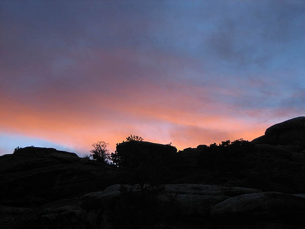 Moab 2005: Needles District: Sunset 02
