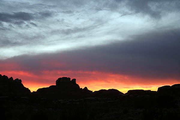 Moab 2005: Needles District: Sunset 05