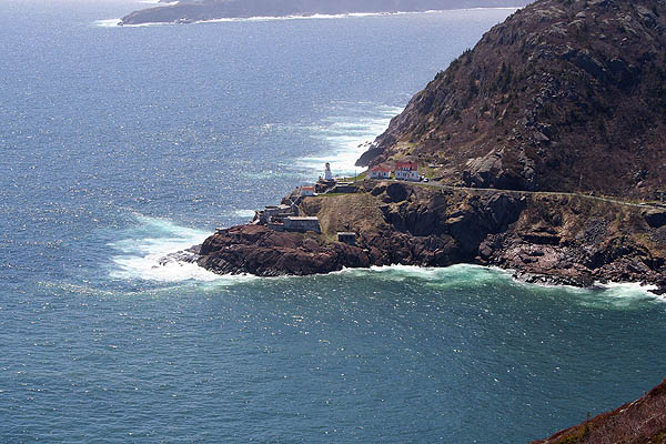 Newfoundland 2005: Fort Amherst from Signal Hill