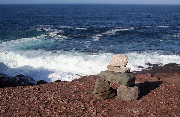 Newfoundland 2005: Cape Spear Rocks and Tide