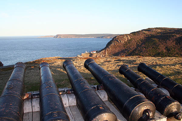 Newfoundland 2005: Queens Battery Cannons
