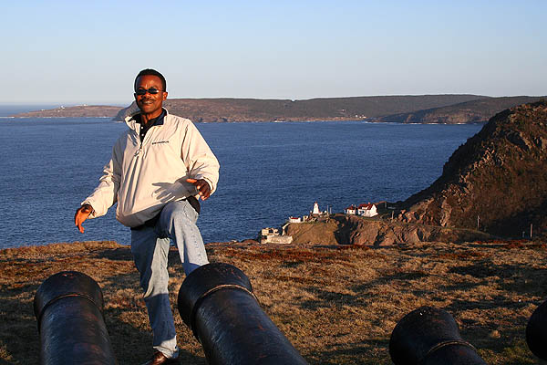 Newfoundland 2005: Queens Battery Cannons and Kenneth
