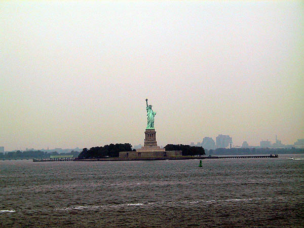 NYC 2002: Statue of Liberty