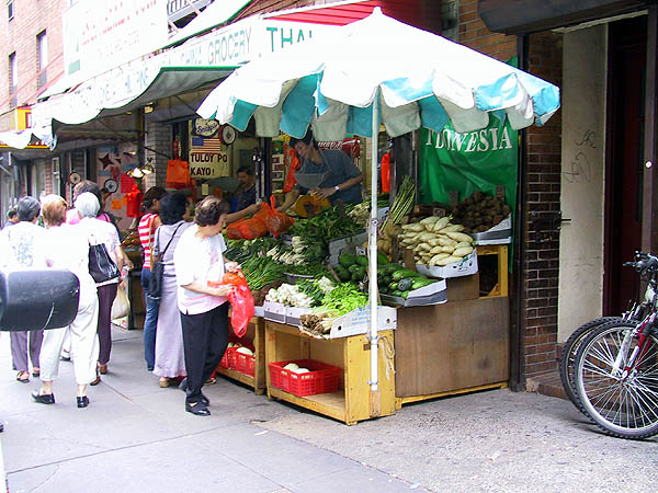 NYC 2002: Produce Stand