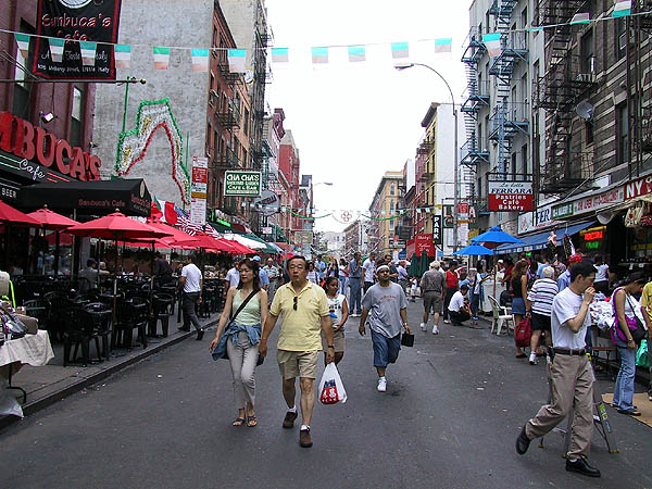 NYC 2002: Little Italy (Mulberry)