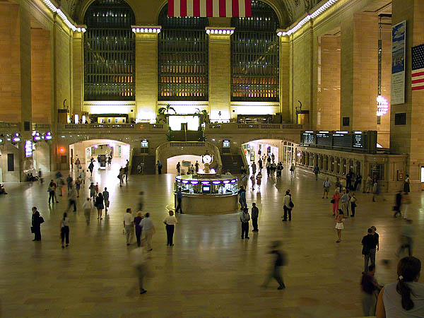 NYC 2002: Grand Central Station Interior 04