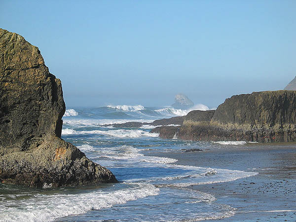 Oregon Coast 2005: Coastal Rocks 11