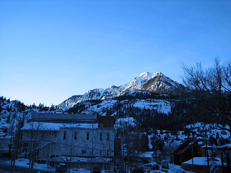 Ouray 2007: Morning View