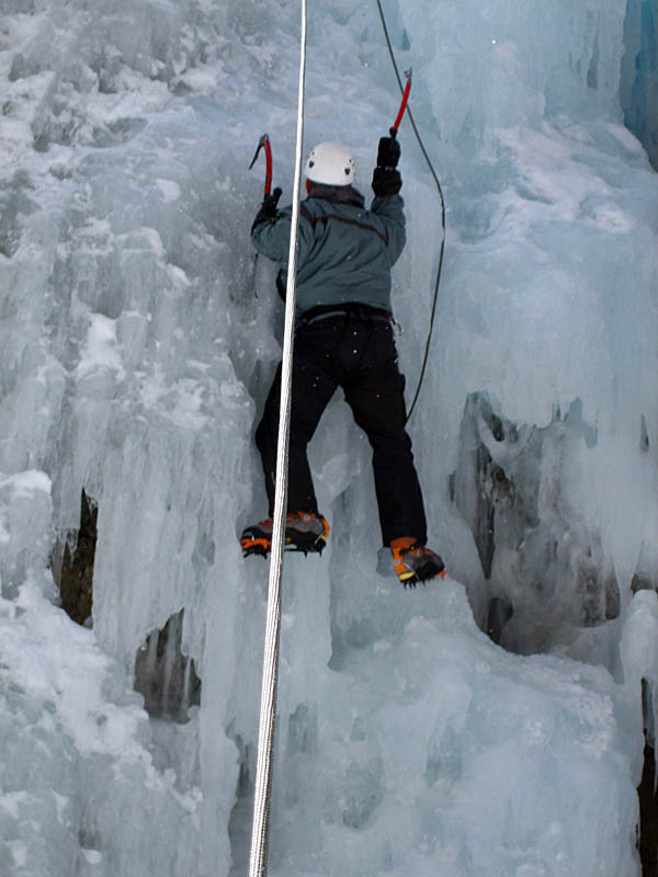 Ouray 2007: Curtis Ice Climbing 2