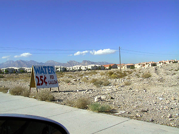 Red Rocks 2001: Misc: Water For Sale