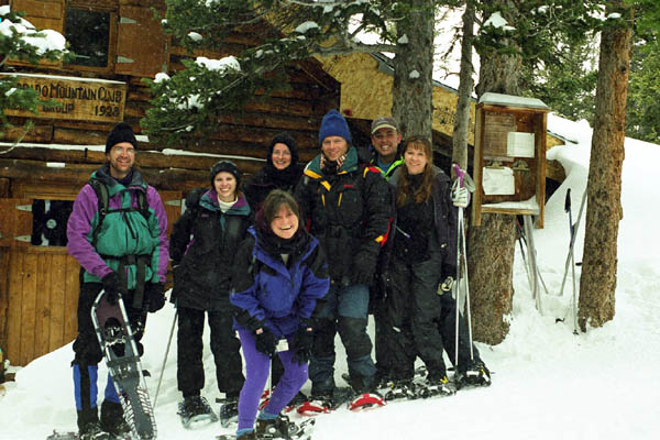 Group at CMC Cabin