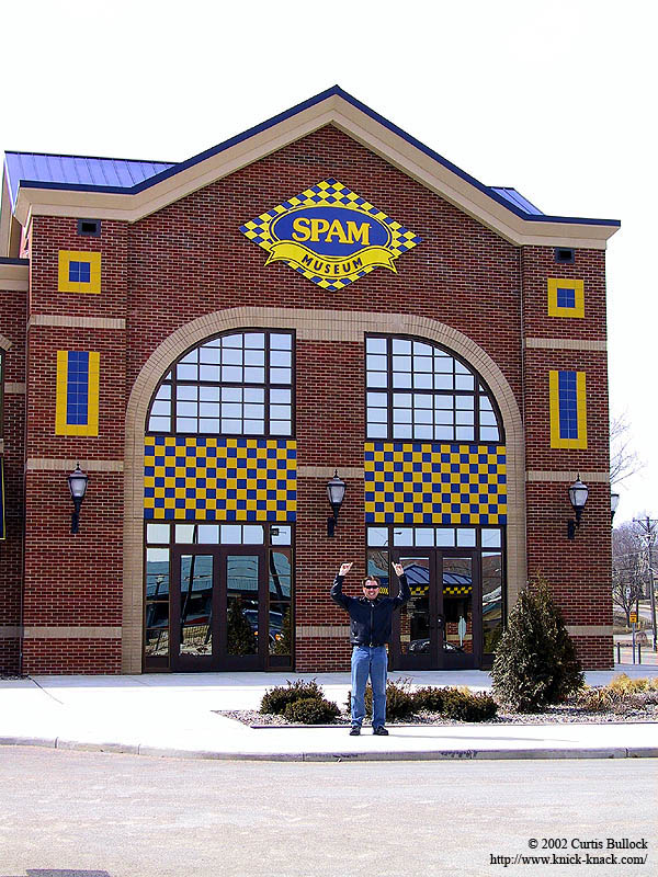 Spam Museum: Curtis at the Museum