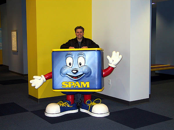 Spam Museum: Curtis and Spam