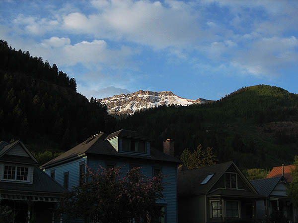 Telluride 2006: Potosi Peak at Sunset