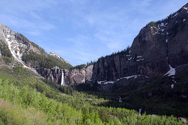 Telluride 2006: Bridal Veil Falls from Valley