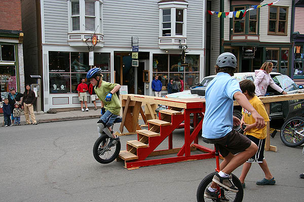 Telluride 2006: Unicycle Trick 3