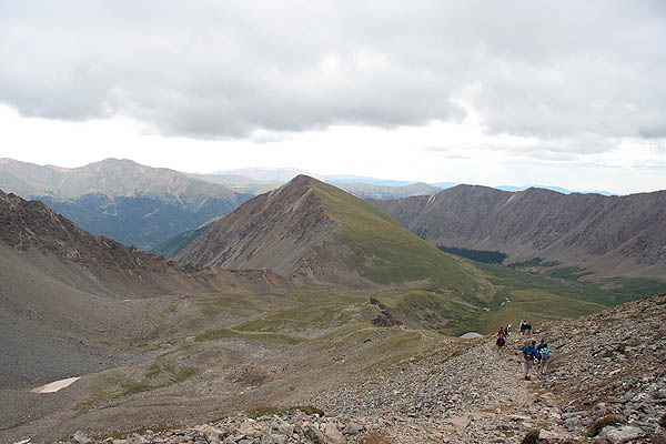 Torreys 2006: Descending Stevens Gulch