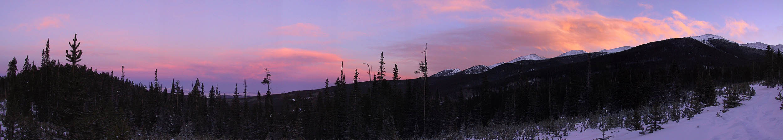 Yurt Trip 2002: Sunrise Panoramic 02