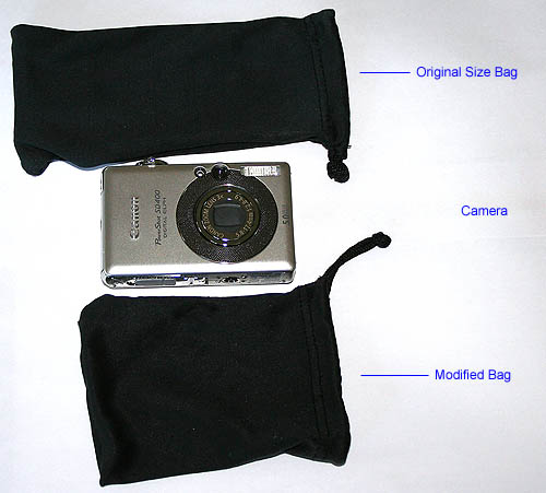 Canon SD400 with soft carry bags